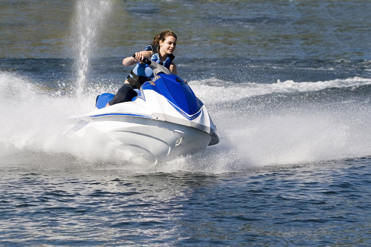 JetSkiing at StaySpa Castle Rock Lake